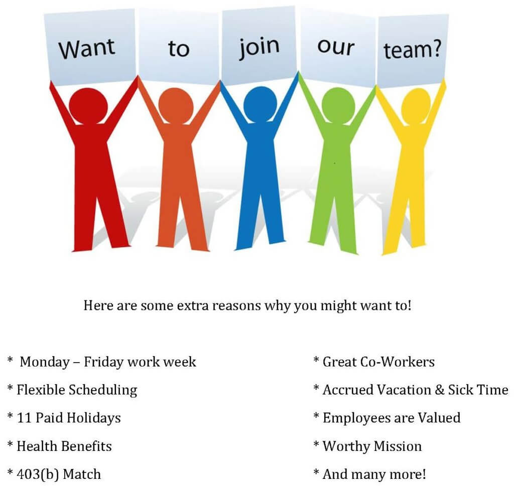 Join Our Team Senior Resources
